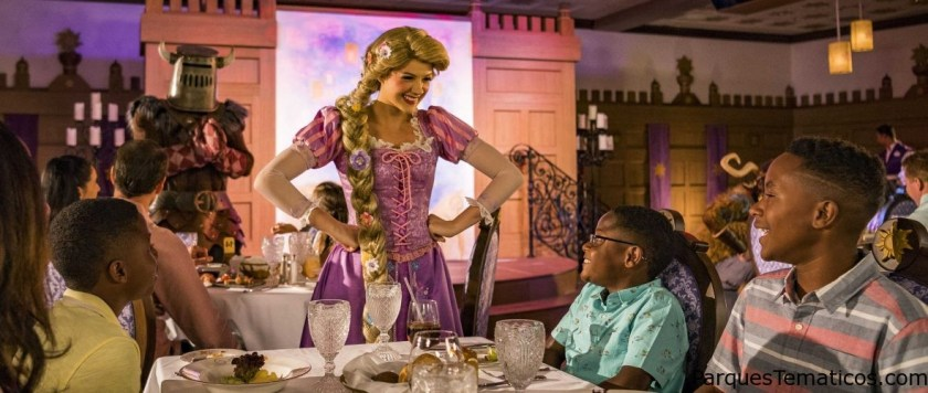 Rapunzel's Royal Table
