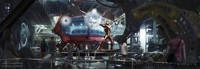 Disneyland Paris devela los planes para una nueva atracción de Marvel