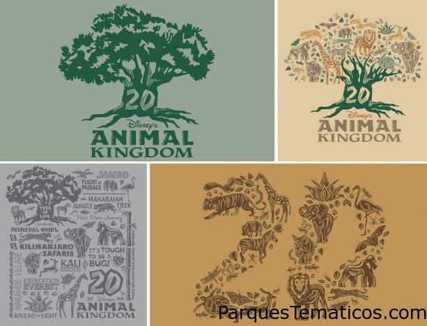 Disney's Animal Kingdom rinde homenaje en su 20mo Aniversario