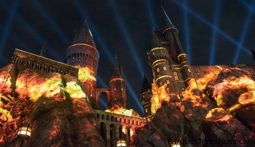 Universal Studios Hollywood Y Su Show De Luces De Harry Potter