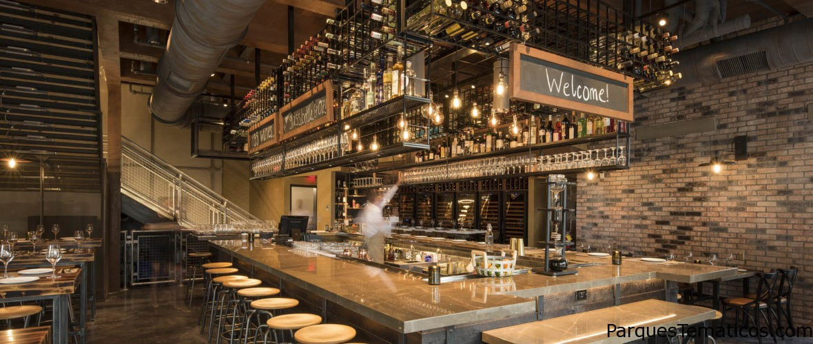 Wine Bar George abrió el 19 de Mayo en Disney Springs