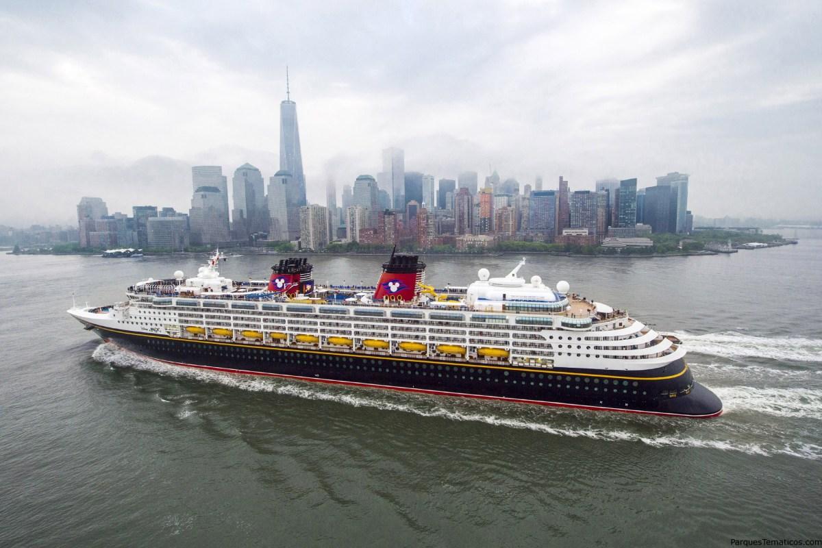 Disney Cruise Line debuta en itinerarios para otoño de 2019