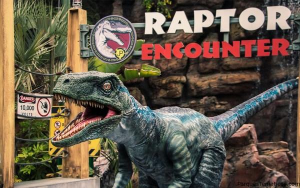 Nueva experiencia Raptor Encounter en Universal's Islands of Adventure