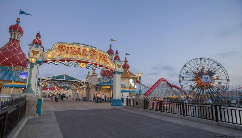 Hoja de citas: Pixar Pier en el Disneyland Resort