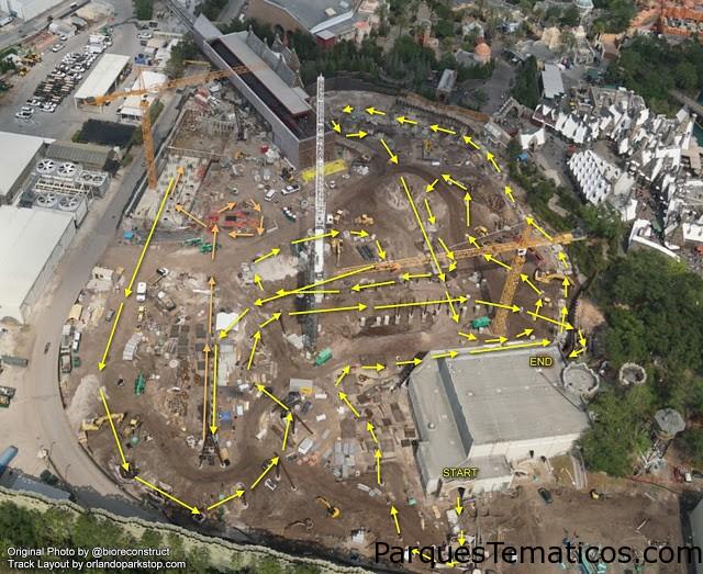 Más datos de la nueva Montaña Rusa de Harry Potter en Universal Orlando