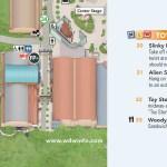 Mapa de Toy Story Land, Orlando