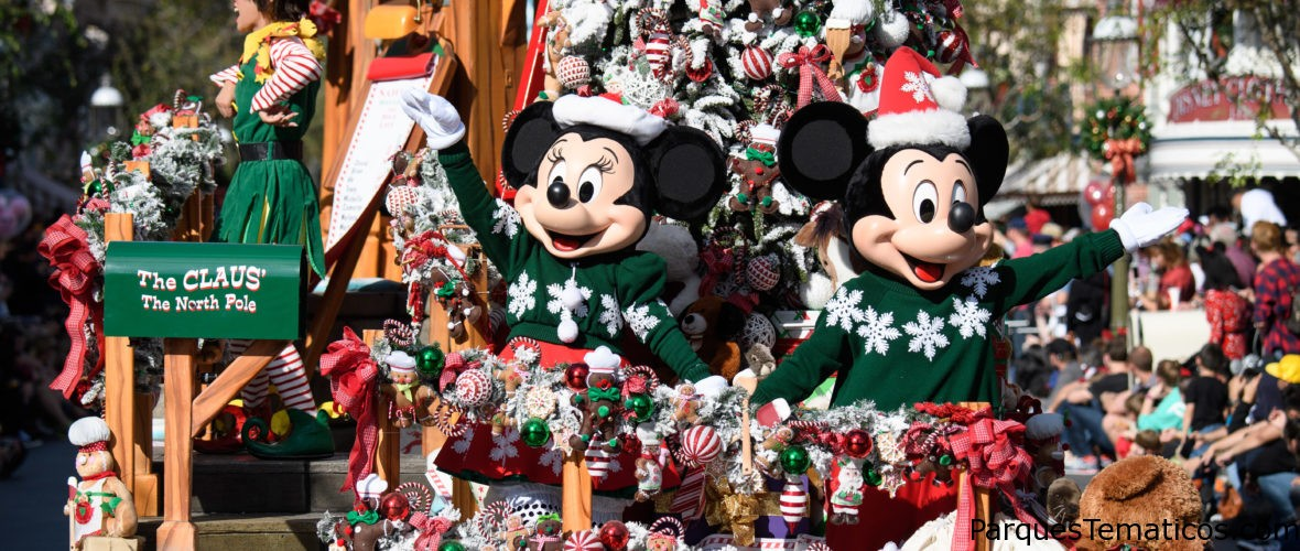 Las Fiestas regresan al Disneyland Resort del 9 de noviembre al 6 de enero de 2019 con Festival of Holidays y el show de fuegos artificiales 'Believe … in Holiday Magic'
