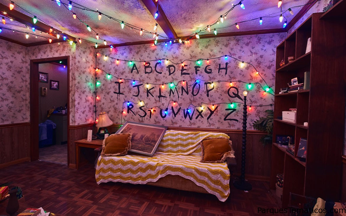La Casa Embrujada de Stranger Things en Halloween Horror Nights