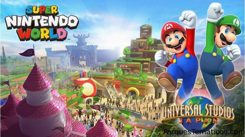 Super Nintendo World en 2020