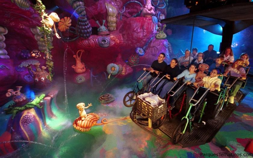 3. Vuela en una bicicleta en E.T. Adventure