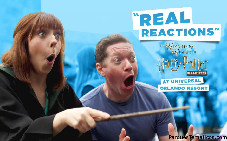 Reacciones «reales» en Hogsmeade Universal Orlando