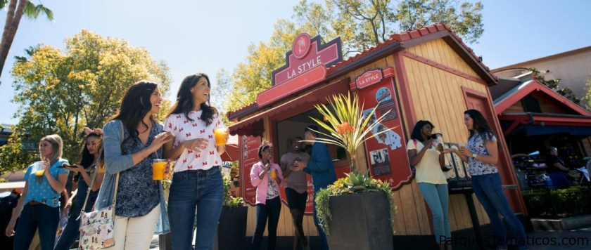 Disney California Adventure Food & Wine Festival takes place March 1 to April 23, 2019. Guests will explore California-inspired cuisine and beverages, plus live entertainment, family-friendly seminars and cooking demonstrations. Kids can even join the fun with hands-on ÒcookingÓ experiences that end with a tasty surprise. (Disneyland Resort)