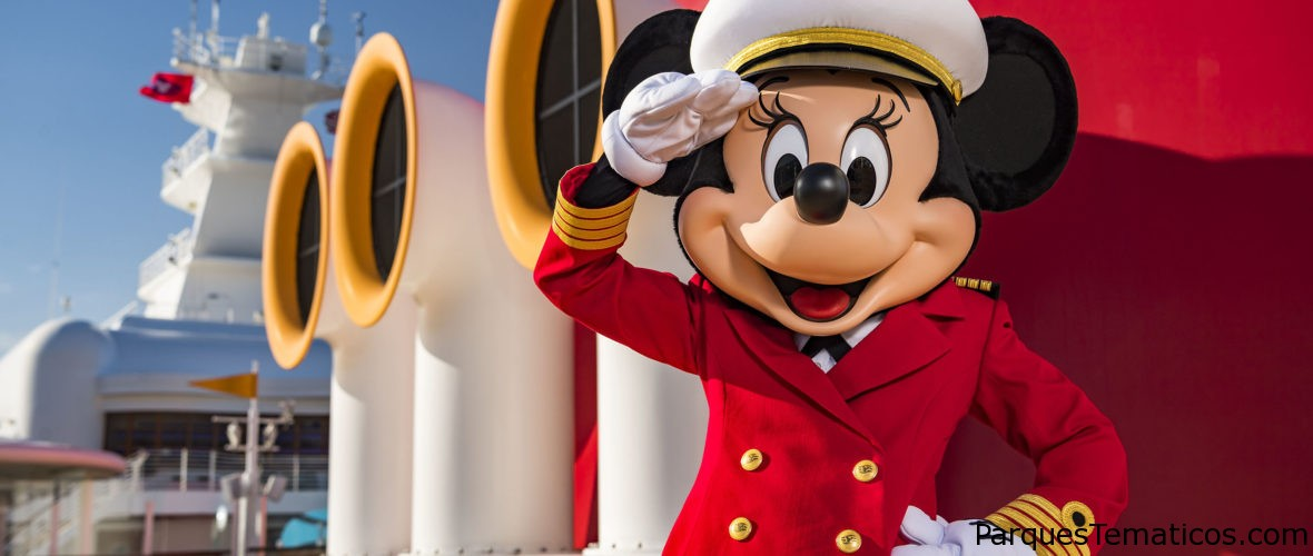 Disney Cruise Line y su Capitana Minnie Mouse