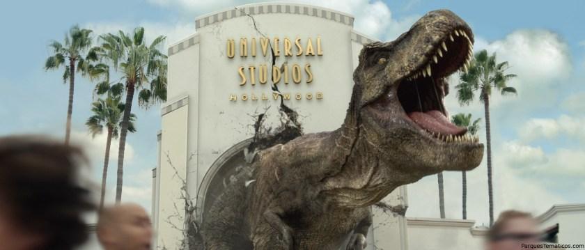 Jurassic World - The Ride llega en verano a Universal Studios Hollywood