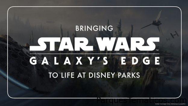 Dando vida a Star Wars: Galaxy's Edge en los Parques Disney