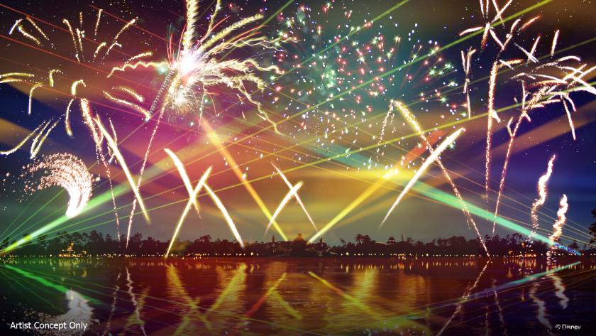 El nuevo show Epcot Forever debuta el 1 de octubre en Walt Disney World