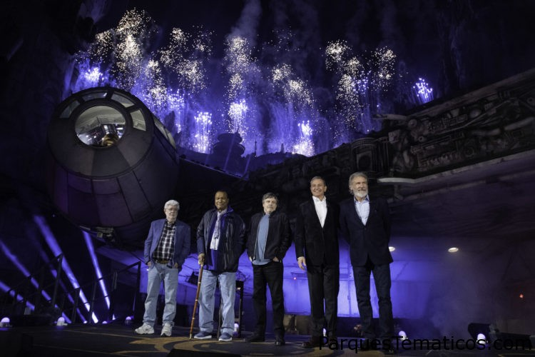 Ceremonia de inauguración en Disneyland de Star Wars: Galaxy's Edge