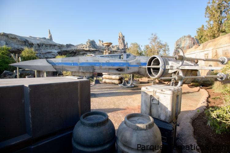 Star Wars: Galaxy's Edge presenta sus naves y vehículos icónicos