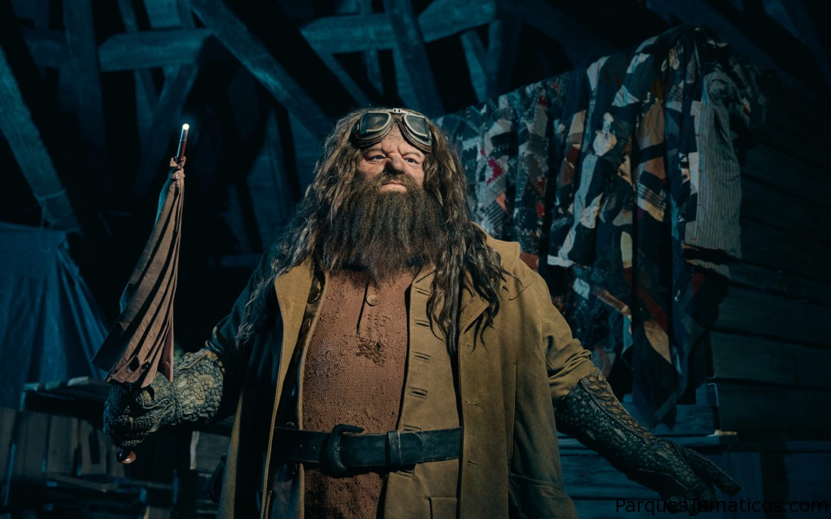 En exclusiva Hagrid´s Magical Creatures Motorbike Adventure