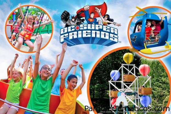 Bugs Bunny BoomTown y DC Super Friends, estrenan en Six Flags México
