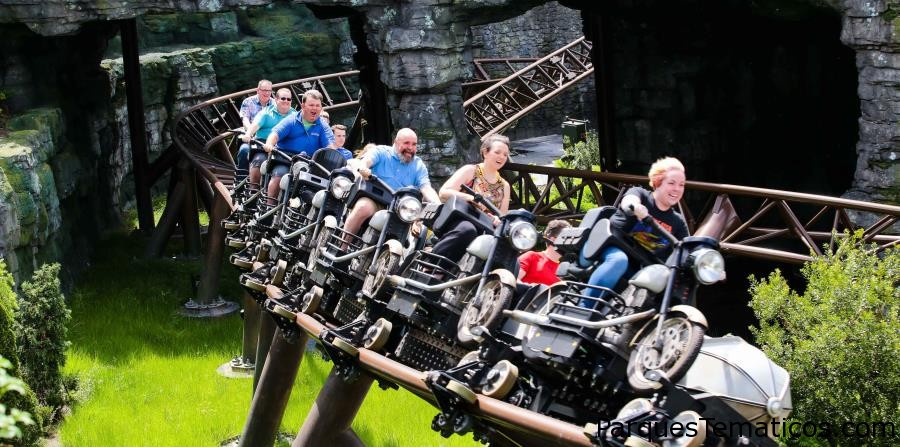 Hoy estrena, Hagrid's Magical Creatures Motorbike Adventure