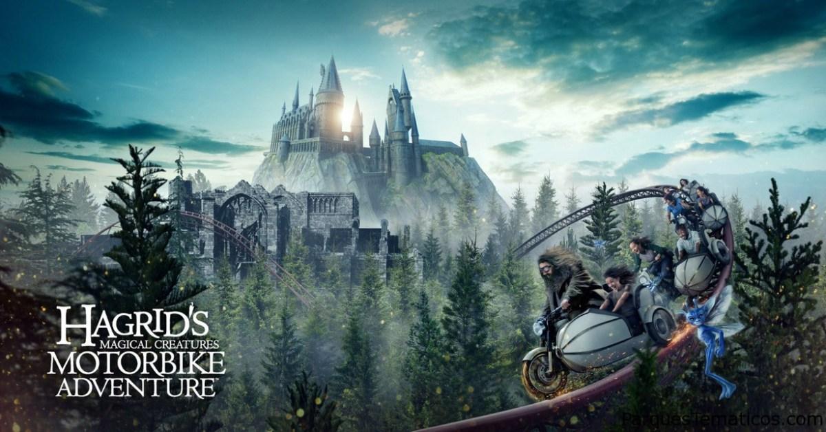 Consejos 1,  2, 3 en Hagrid's Magical Creatures Motorbike Adventure