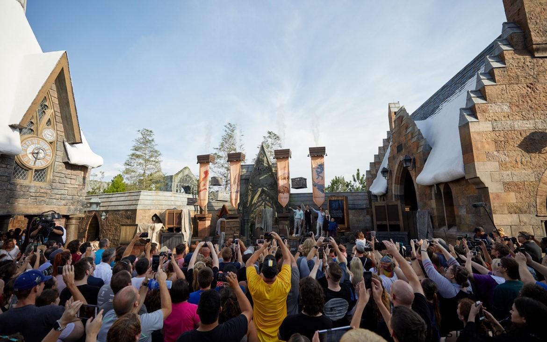 Hagrid's Magical Creatures Motorbike Adventure abrió en Universal Orlando