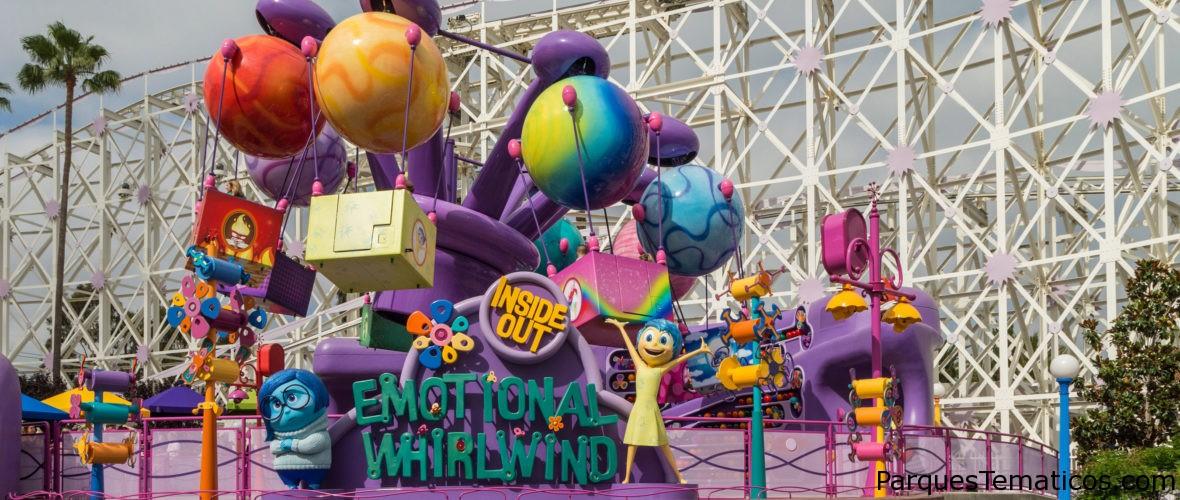 Pixar Pier celebra la imaginación en Disney California Adventure Park