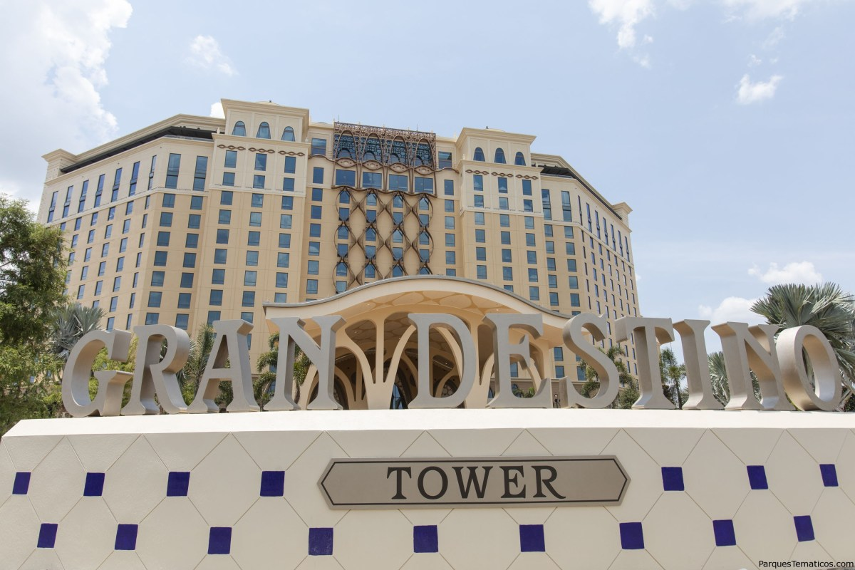 Detalles de Gran Destino Tower en Disney's Coronado Springs Resort