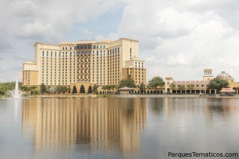 Detalles completos de Gran Destino Tower en Disney's Coronado Springs Resort