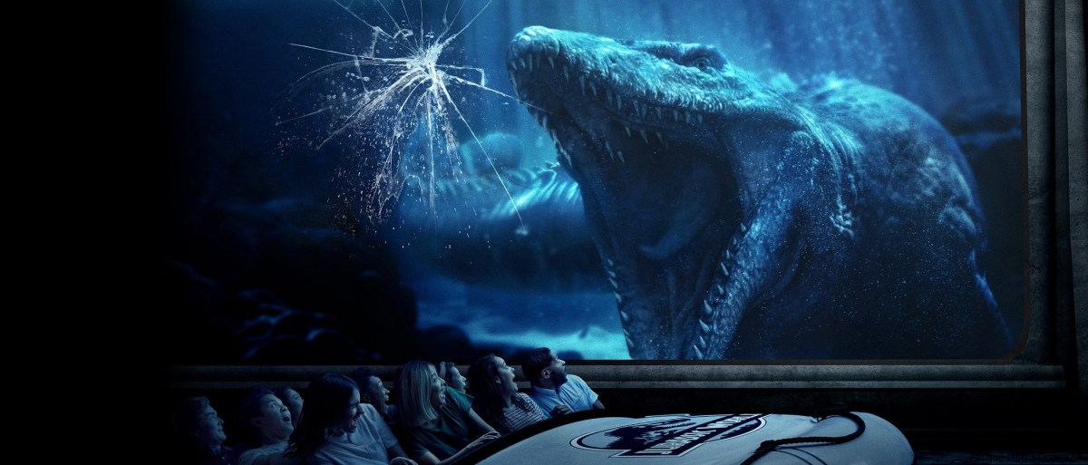 Abrió Jurassic World – The Ride en Universal Studios Hollywood