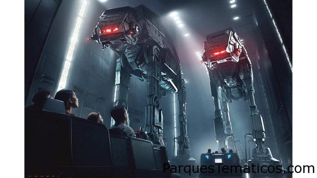 Rise of the Resistance en Star Wars: Galaxy's Edge en Orlando en Diciembre 5, y en Disneyland en enero 17