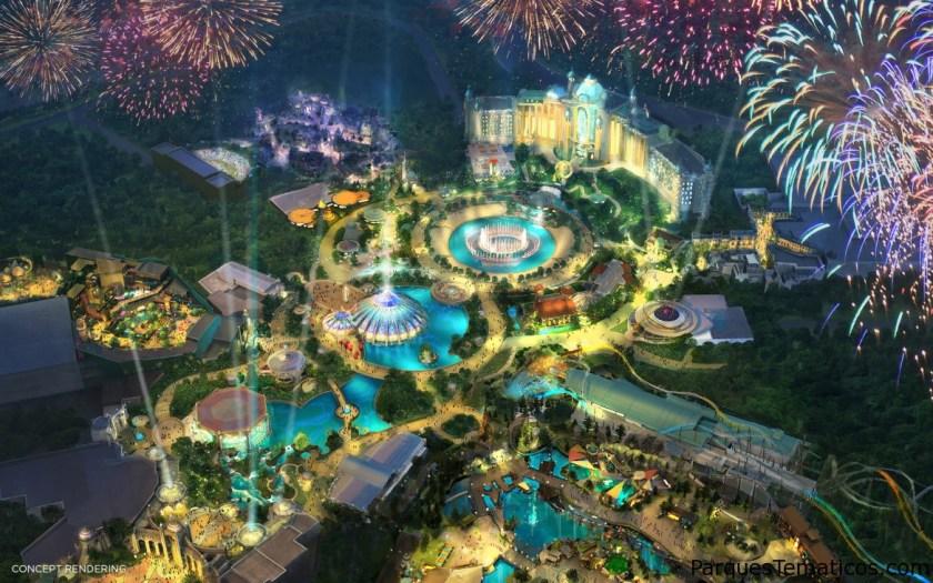 Universal's Epic Universe, el cuarto parque temático de Universal Orlando