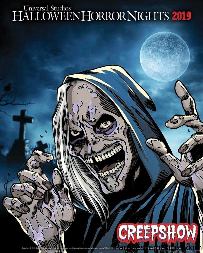 Creepshow en Halloween Horror Nights 2019 en California