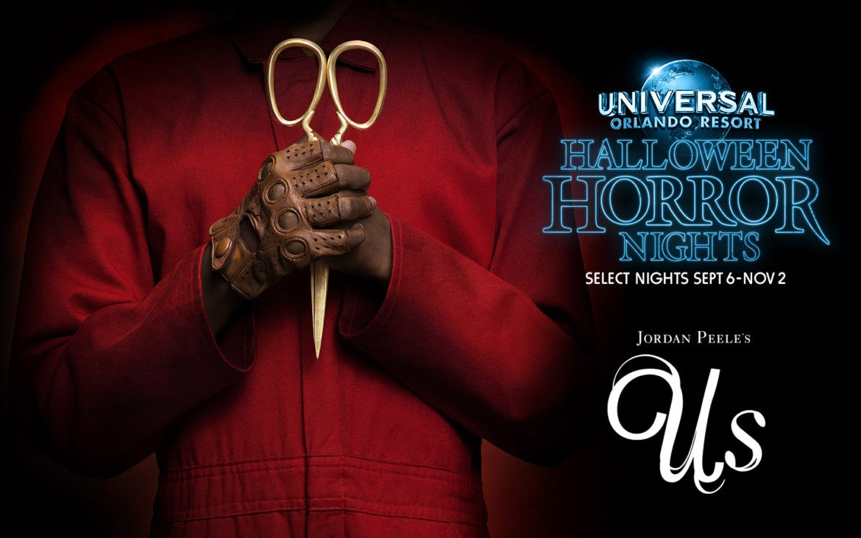 El éxito de taquilla de Jordan Peele, US, llega a Halloween Horror Nights