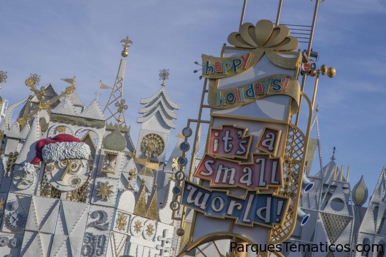 Disneylandia trae las tradiciones navideñas de todo el mundo en It's a small world