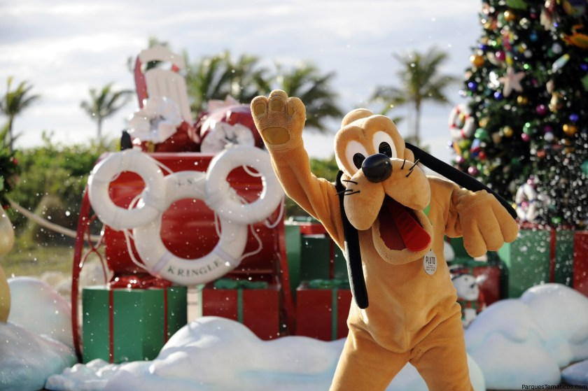 Unas vacaciones mágicas de invierno aguardan a bordo de la línea de cruceros de Disney
