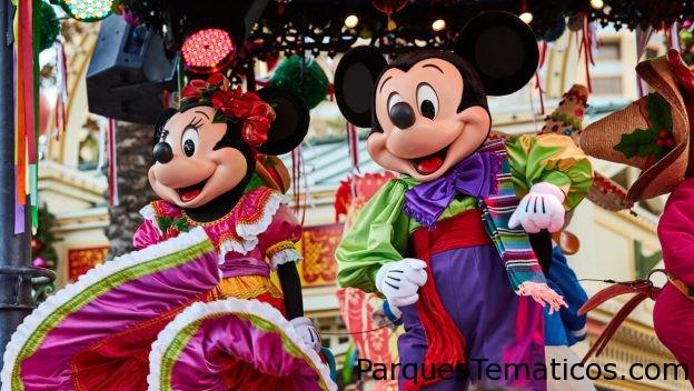 Disney ¡Viva Navidad! en el parque Disney California Adventure