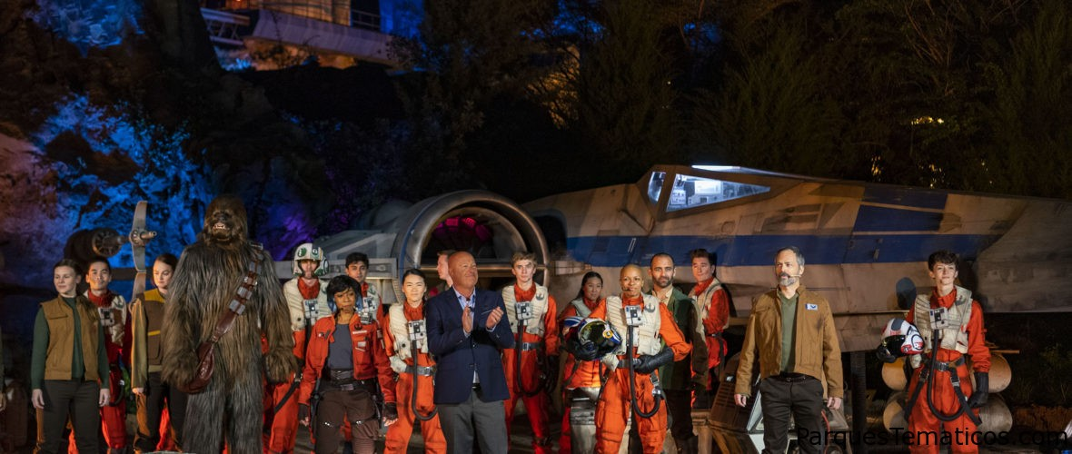 Star Wars: Rise of the Resistance hace su debut galáctico en Disney´s Hollywood Studios