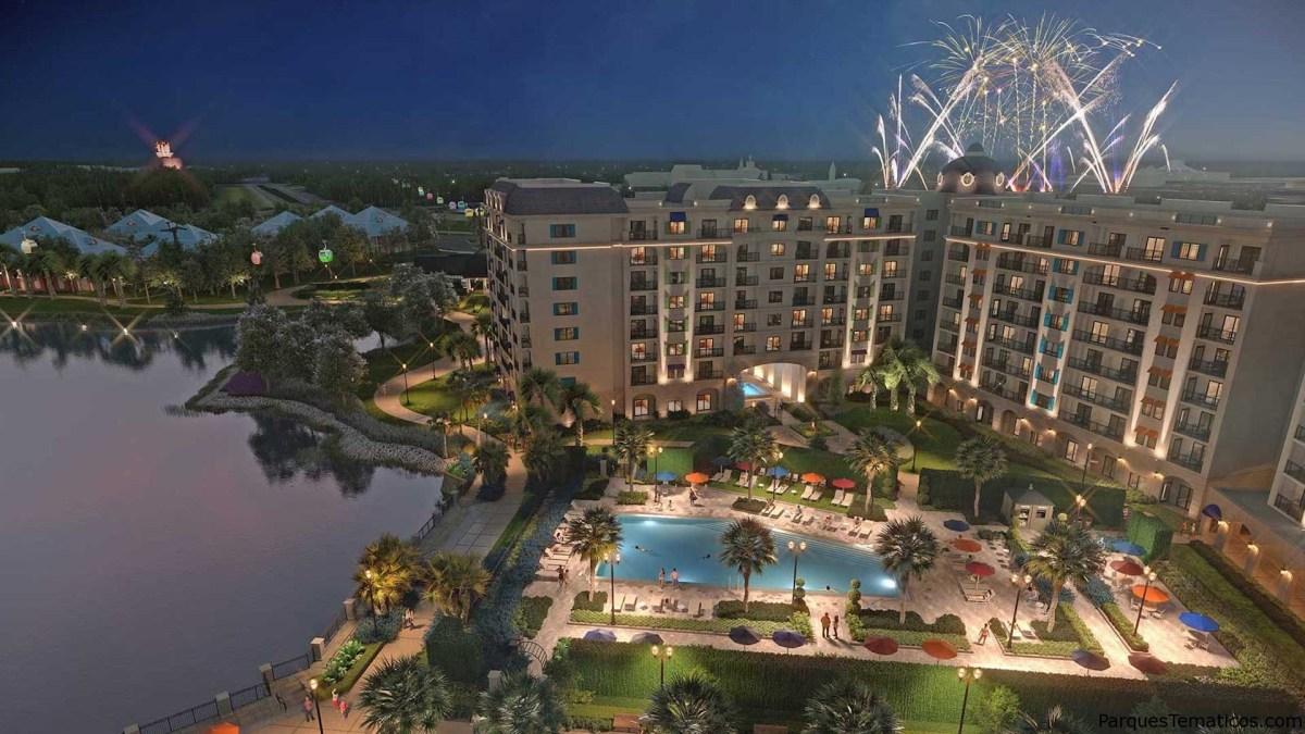 Disney's Riviera Resort con vistas, sonidos y sabores de Europa