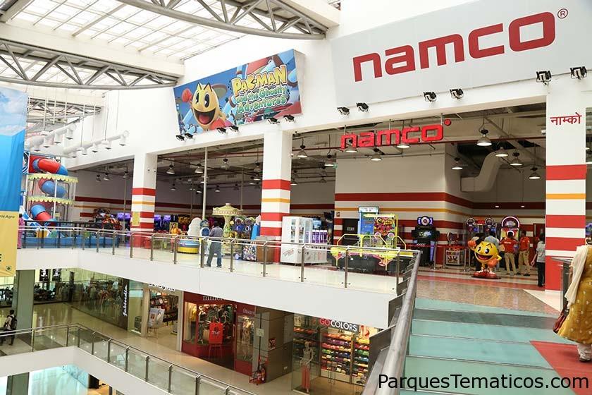 Bandai Namco, ha lanzado el mayor parque de diversiones bajo techo en Mumbai