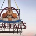 Nuevo cartel para el restaurante Gusteau's, recién instalado en el pabellón de Francia en Epcot