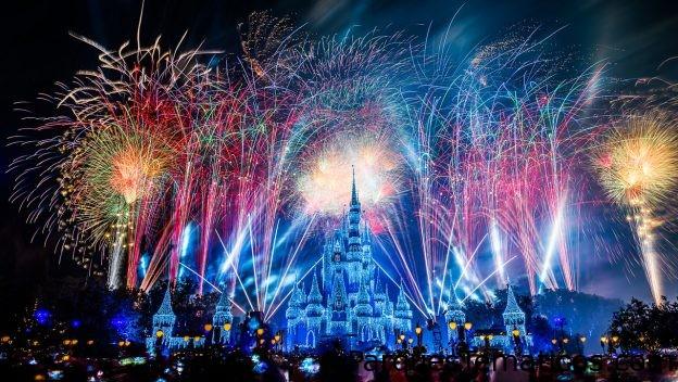 Mira la repetición de Fantasy in the Sky Fireworks
