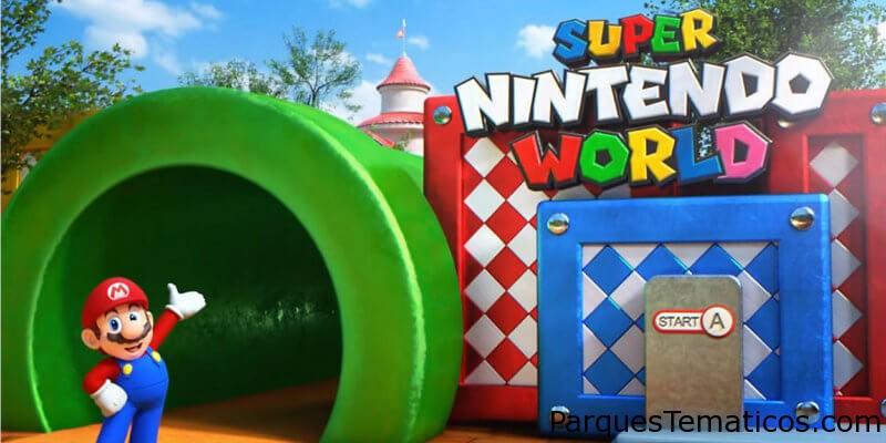Super Nintendo World llegará a Universal's Epic Universe en 2023