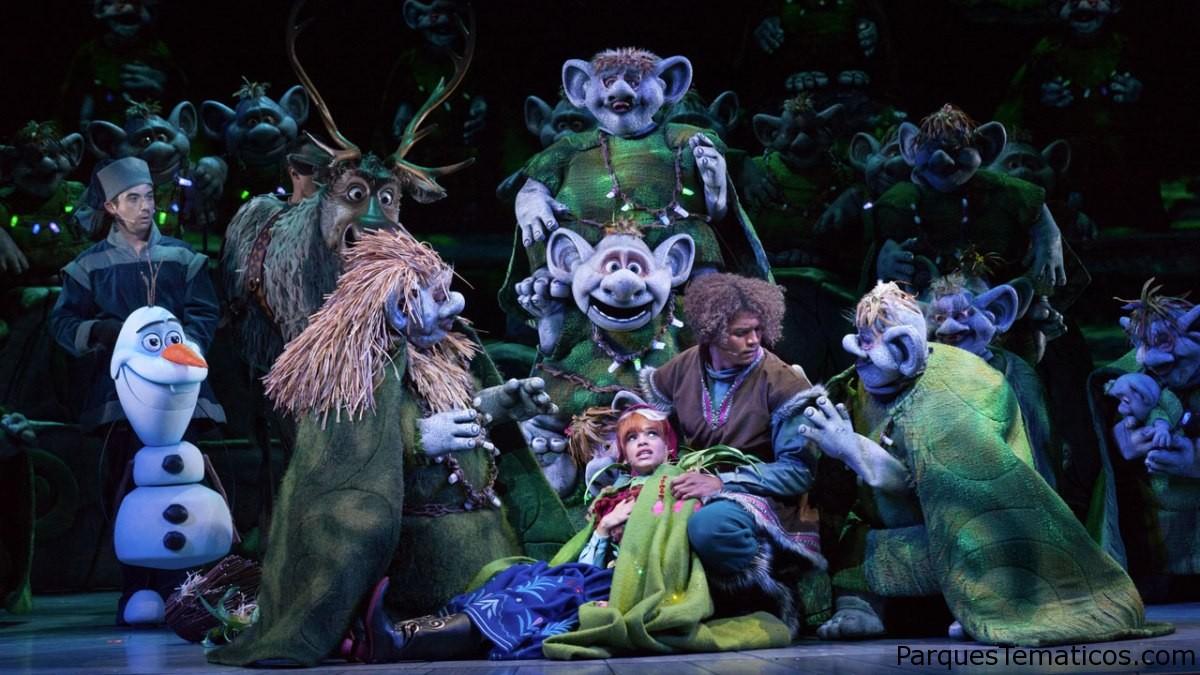 Frozen - Live at the Hyperion, el musical en el parque Disney California Adventure