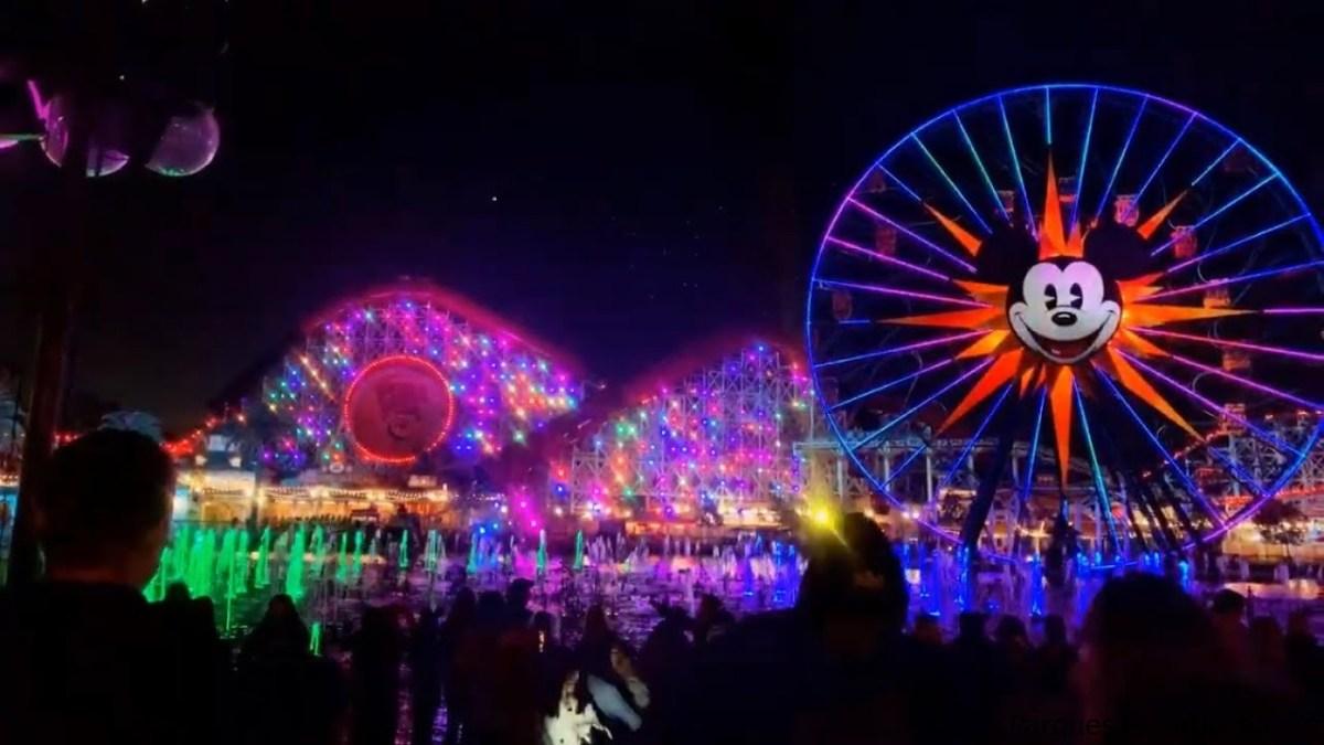 Paradise Gardens Park en Disney California Adventure Park 2020
