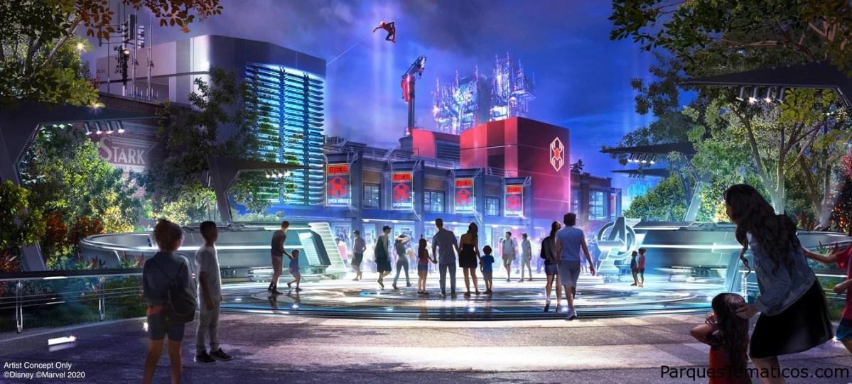 Superhéroes Unidos en Avengers Campus, la nueva área temática que llega a Disneyland Resort el 18 de julio de 2020