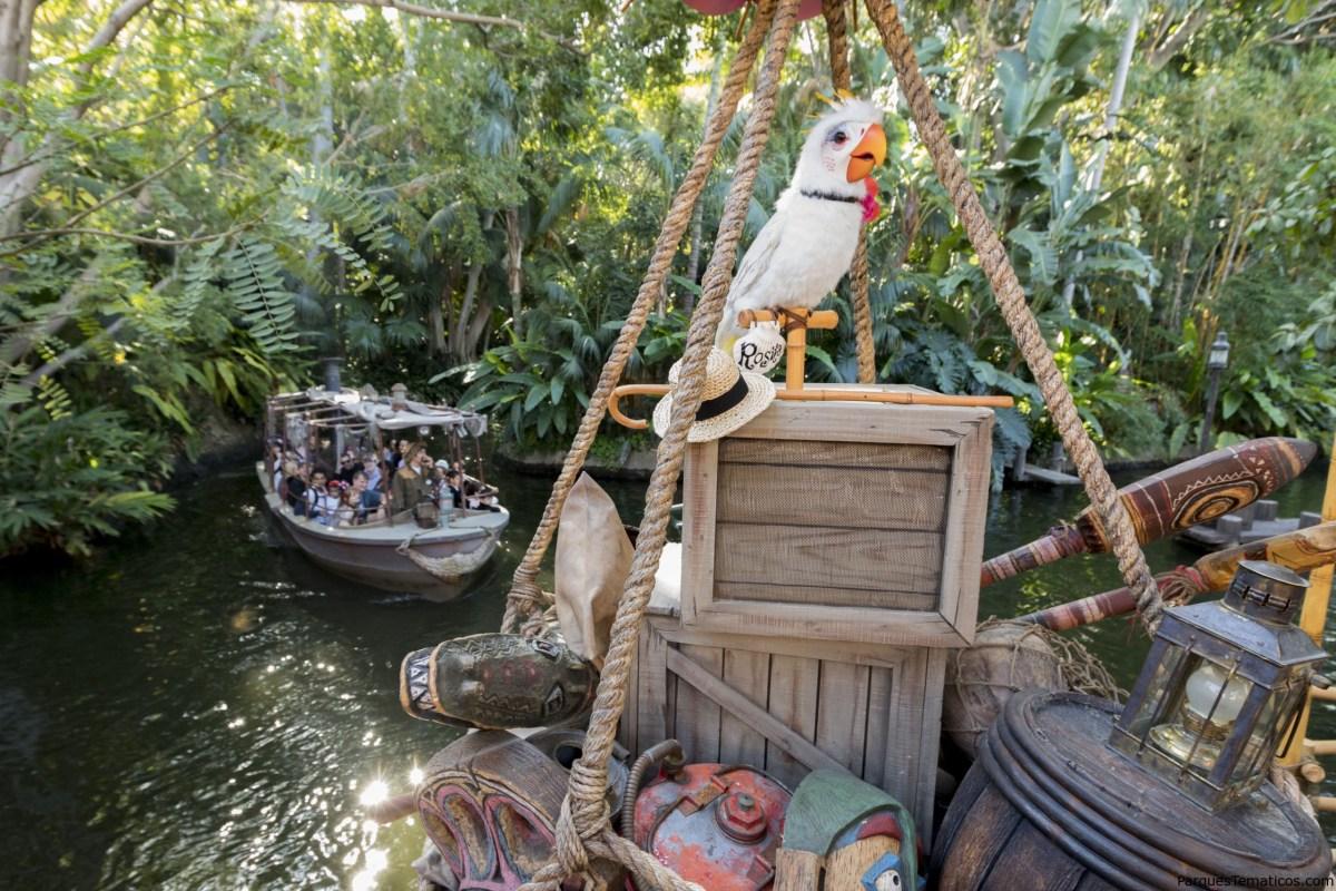 Adventureland en Disneyland Park