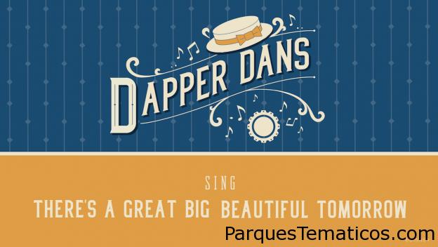 Escucha a los Dapper Dans de Walt Disney World en el Día Nacional del Barbero