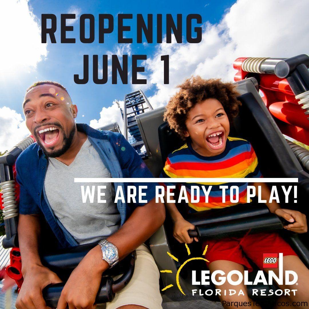 LEGOLAND Florida Resort reabrirá oficialmente el 1 de junio